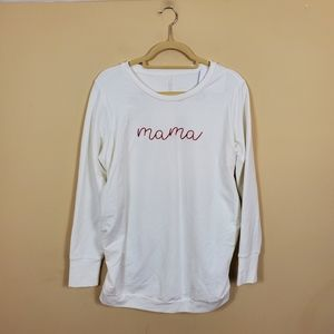 Isabel Maternity Mama Sweatshirt
